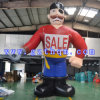 Outdoor Display Giant Inflatable Pirate Model