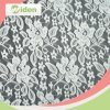 New Coming African White Flower Designs Stretch Fabric