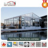 Wedding Marquee Tent with Transparent Roof and Glass Sidewalls