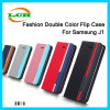 Hotselling Wallet Flip Smart Leather Case for Samsung J1