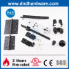 Euro Stainless Steel Fire Rated Black Furniture Fitting Door Hardware