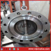 Wafer Type Double Flanged Dual Plate Rtj End Check Valve