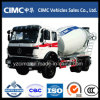 Beiben 6*4 Concrete Mixer Truck for Engineering Machinery