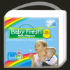 Dry Soft Surface Disposable Baby Diapers with Good Absorbent