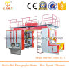 New Design 4 Color Flexo Printing Machine for Polythene Film