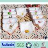 Hot Sale Soft Animal Muslin Face Towel Muslin Saliva Towel Embroidered Muslin Handkerchief