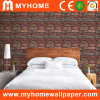 3D Stone Design Vinyl Wall Paper for Hotel