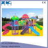 Mushroom Children Playground with Plastic Big Slide for Sale