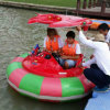 Laser Shot Round Bumper Boat for Outdoor Waterpark