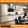 Oppein Modern Grey Beige Melamine Wood Kitchen Furniture (OP14-075)