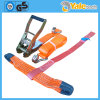 Rubber Ratchet Strap, Slackline Ratchet Double Hook Belt