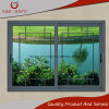 Metal Profile Aluminium Alloy Sliding Window with Double Glass