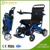 High Quality Folding Electric Power Wheelchair with Lithium Battery
