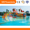 Stainless Steel Material Rainbow Spray Equipment Water Park