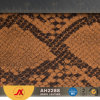 Artificial Leather Snake Skin Faux Leather for Making Bags with Very Cheap Price