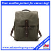Leisure Waxed Canvas Watherpoof Backpack for School and Traveling