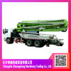37m Truck Mobile Concrete Boom Pump Truck with 66 Cbm/Hr Pumping System