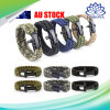 Outdoor Camping Hiking Man Emergency Tactical Survival Rescue Bracelets Parachute Cord