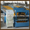 Color Steel PLC Control Antique Glazed Roof Tile Roof Roll Forming Machine