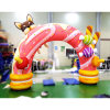 GM207 Event Finish Gate Inflatable Entrance Arch for Advertising Creative Economy Development Air Design Make Festival Attractive
