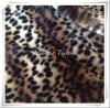 Printed Faux Fur with Leopard Point