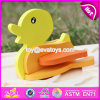 2017 New Product Funny 3D Duck Children Wooden Animal Puzzles for Toddlers W14G043