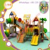 Outdoor Kids Plastic Tube Open Slide Price Kids Play Set