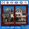 Aluminium Sliding Window with Wooden Color