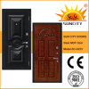 Wooden Veneer MDF Interior Steel Security Door (SC-A223)