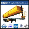 Cimc 3 Axles Rear 30cbm-60cbm Tipper Semi-Trailer
