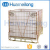 Folding Good Sale Warehouse Storage Wire Cages