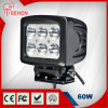 60W Square CREE LED Work Lamp for Truck