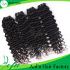 Deep Wave Natural Black Human Indian Remy Hair