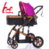 2017new Style Wholesale Adjustable Colorful Steel En Ce Top Quality 3 in 1 Baby Stroller