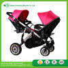 New Best Selling Baby Twin Stroller with Umbrella/Baby Stroller Tricycle for Two babies