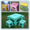 Plastic Furniture Stool Table Folded Chair with CE Standard