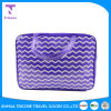 Wholesale PVC Material Stripe Printed Zipper Tote Bag