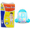 Fast Delivery Stable Production OEM Brand Disposable Magic Tape Baby Diaper Fujian Diapers Factories