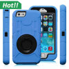 Hot Mobile Phone Shockproof Clip Stripes Holster Case for iPhone 6