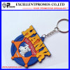Promotion High Quality PVC Rubber 3D Custom Made Keychain (EP-K573021)