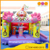 Clown Theme Inflatable Bouncer with Slide (AQ647-2)