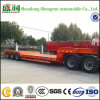 Shengrun Manufacturer Low Bed Semi Trailer Lowbed Trailer with Tri-Axle