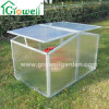 Two Windows Cold Frame Mini Greenhouse for Young Plants Growing (F322)