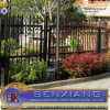 Ornate Wrought Iron Black Fence Color Railing