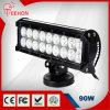 """Teehon 9"""" 90W Osram Sxs 18 LED Light Bar for Jeep 4X4 ATV UTV RV 4WD Ute"""