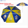 Reinforced Advertising Beach Umbrella with Complex Imprinting (OCT-BUDPVC03)