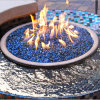 Pacific Blue Reflective Fire Glass