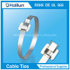 Width 10mm Releasable Stainless Steel Cable Tie Zip Tie for Shipbuilding Industry