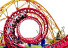 Amusement Park Necessary Equipment Big Roller Coaster