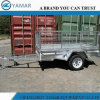 Entry Level Galvanized Box Trailer with Cage